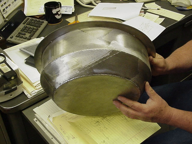 Stainless Steel Noodle Strainer - Image 0