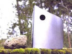 Stainless Steel Birdhouse - Image 0